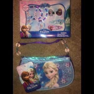 Disney Frozen Best friend set (6 piece) & purse